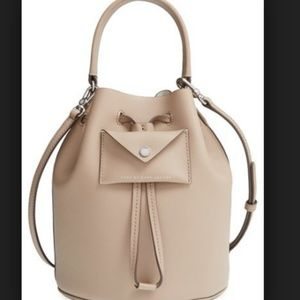 NWOT Nude Marc by Marc Jacobs Leather Bucket Bag